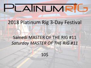 samedi master rig